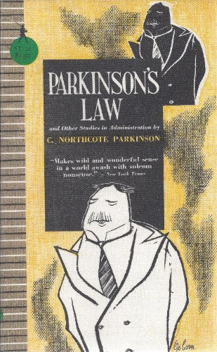 9780395083734: Parkinson's Law, and Other Studies in Administration