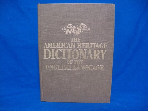 9780395090657: The American Heritage dictionary of the English language