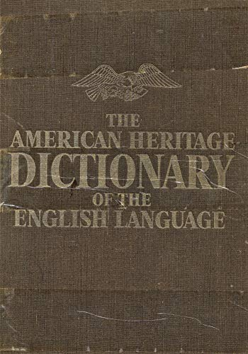 9780395090664: The American Heritage Dictionary of the English Language