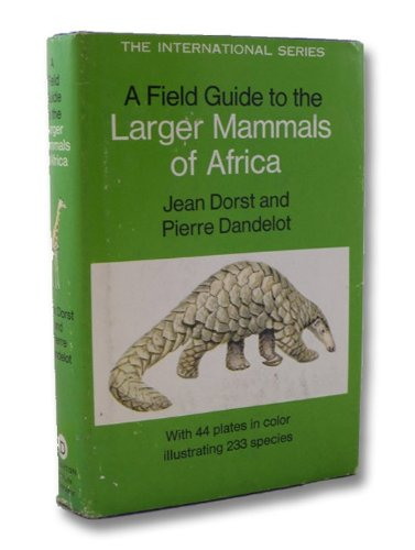 9780395108390: A Field Guide to the Larger Mammals of Africa
