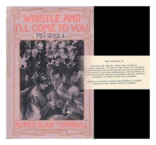 9780395109571: Whistle and I'll Come to You: An Idyll.