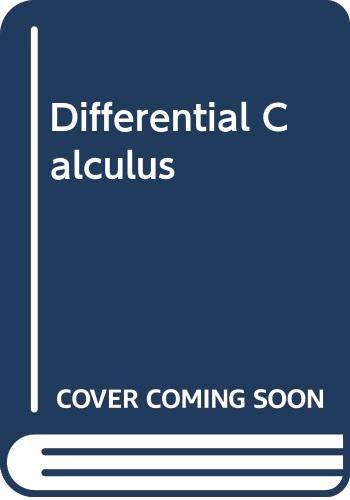 9780395120330: Differential calculus