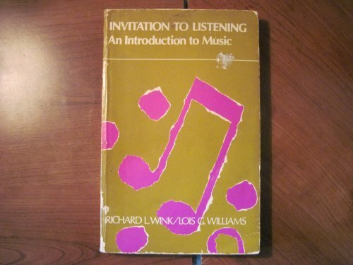 9780395123409: Invitation to Listening: An Introduction to Music