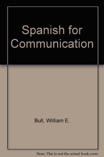 9780395124482: Spanish for Communication (Spanish Edition)
