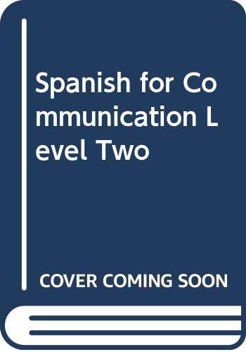 9780395124666: Spanish for Communication Level Two