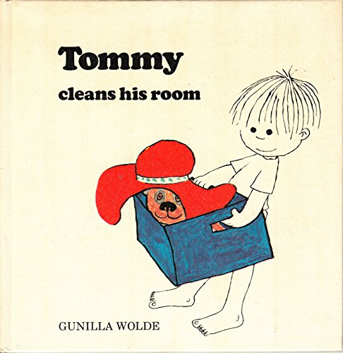 Tommy cleans his room (0395126029) by Wolde, Gunilla