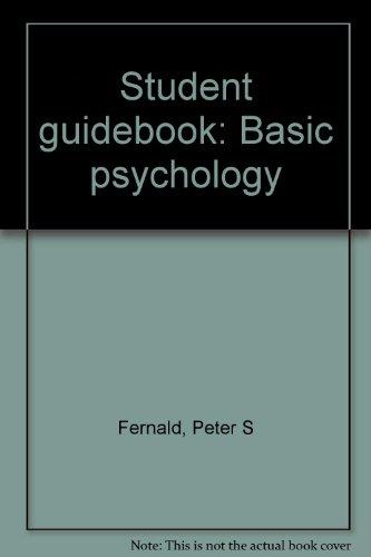 9780395126561: Student guidebook: Basic psychology