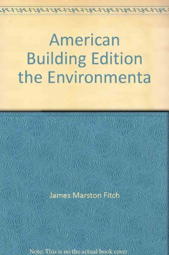 9780395126677: American Building 2: The Environmental Forces That Shape It