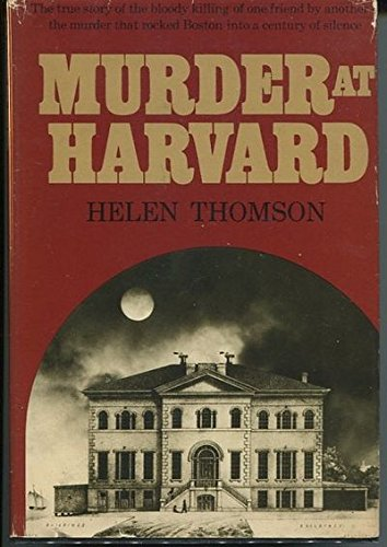 9780395127254: Murder at Harvard