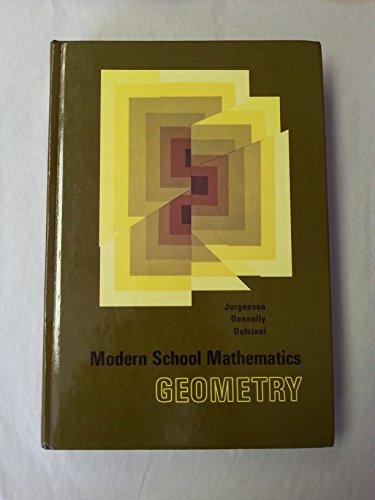 9780395131022: Modern School Mathematics Geometry