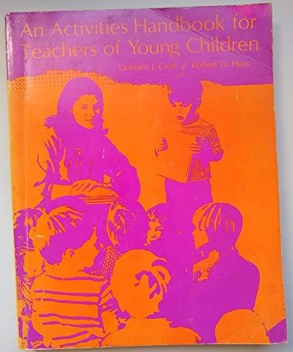 9780395131312: An activities handbook for teachers of young children