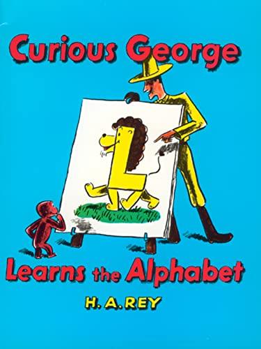 9780395137185: Curious George Learns the Alphabet