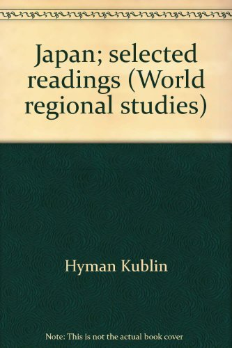 9780395139301: Japan; selected readings (World regional studies)