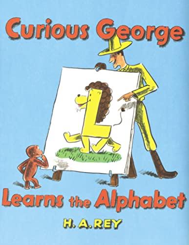 9780395160312: Curious George Learns the Alphabet