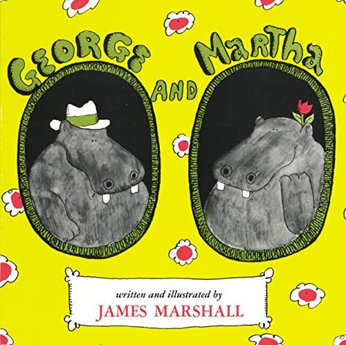 George and Martha (Hardcover): James Marshall