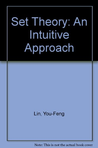9780395170885: Set Theory: An Intuitive Approach