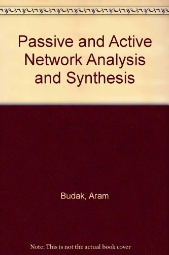 Circuits and Networks Analysis Design and Synthesis