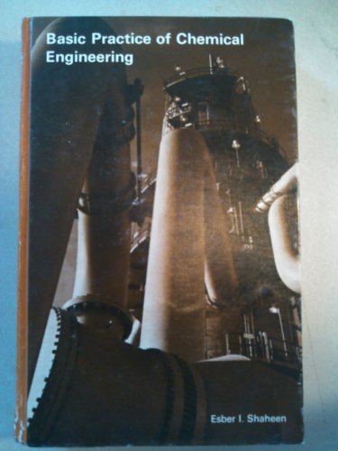 9780395176450: Basic Practice of Chemical Engineering