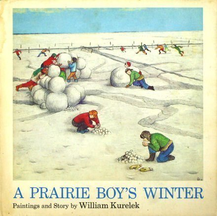 9780395177082: A Prairie Boy's Winter