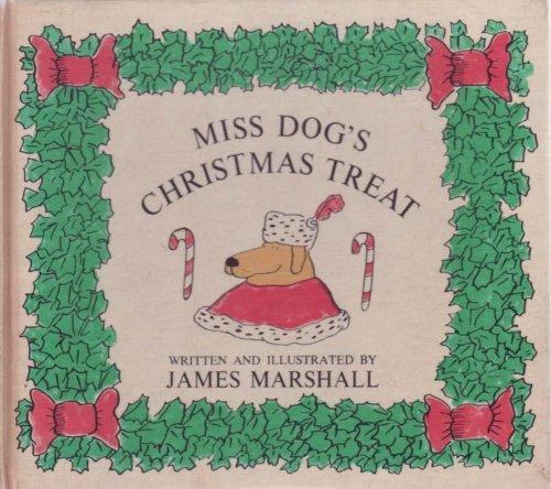 9780395181546: Miss Dog's Christmas Treat.