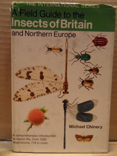 9780395182291: A Field Guide to the Insects of Britain and Northern Europe: With 60 color plates