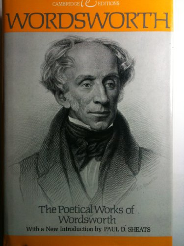 9780395184967: The Poetical Works of Wordsworth (Cambridge Editions)