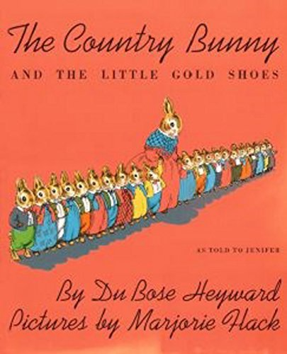 9780395185575: The Country Bunny and the Little Gold Shoes: As Told to Jenifer (Sandpiper Books)