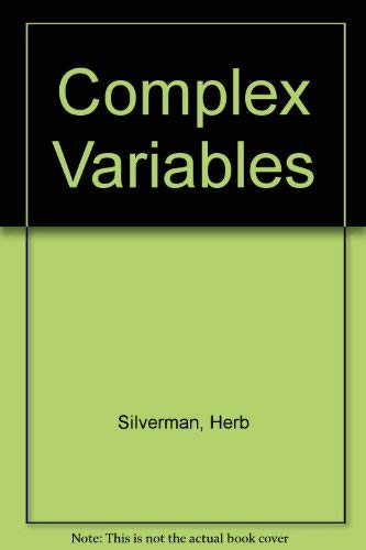 Complex Variables: Silverman, Herb