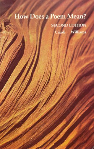 How Does a Poem Mean?: Ciardi, John, Williams,