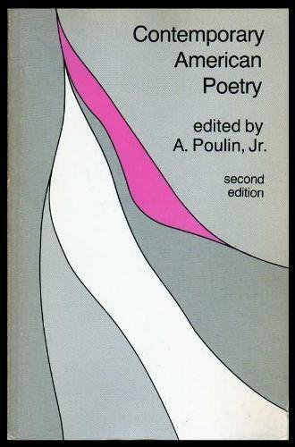 A Poulin Jr Contemporary American Poetry Abebooks