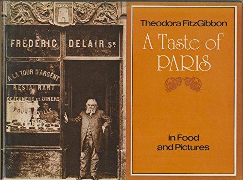 9780395193938: A taste of Paris;: Traditional food