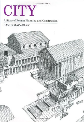 9780395194928: City: A Story of Roman Planning and Construction