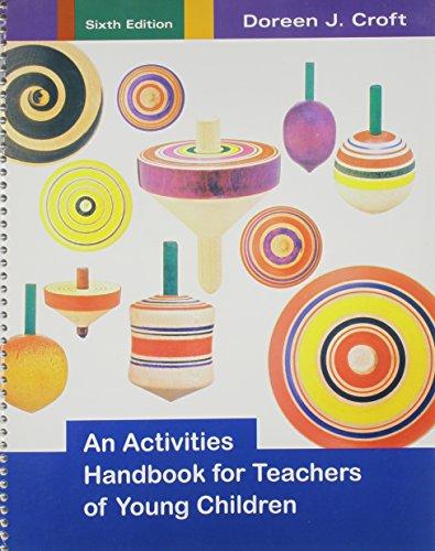 9780395198216: An activities handbook for teachers of young children
