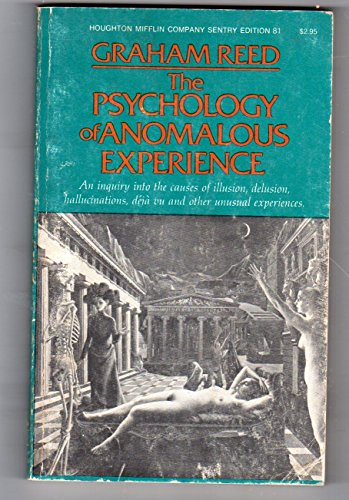 9780395198445: The psychology of anomalous experience: A cognitive approach (Sentry edition 81)