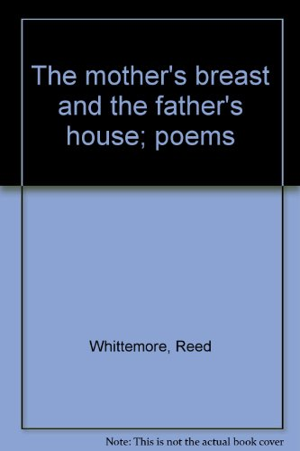 9780395199213: The mother's breast and the father's house; poems
