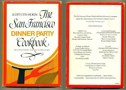 9780395202876: The San Francisco dinner party cookbook