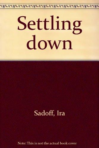 9780395202883: Settling down: [poems]
