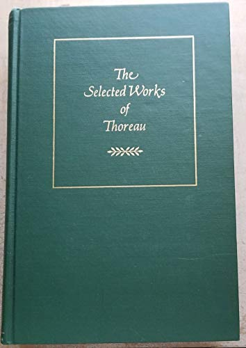 9780395204306: The Selected Works of Thoreau (Cambridge Editions)
