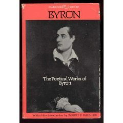 9780395204313: The Poetical Works of Byron. (Cambridge Editions)