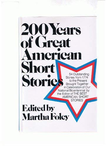 9780395204474: 200 Years of Great American Short Stories