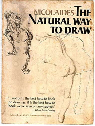 9780395205488: Nicolaides The Natural Way to Draw: A Working Plan for Art Study