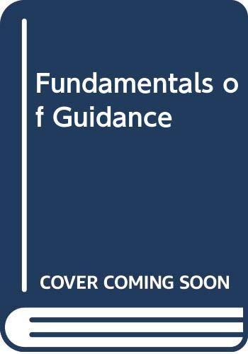 9780395206218: Fundamentals of Guidance