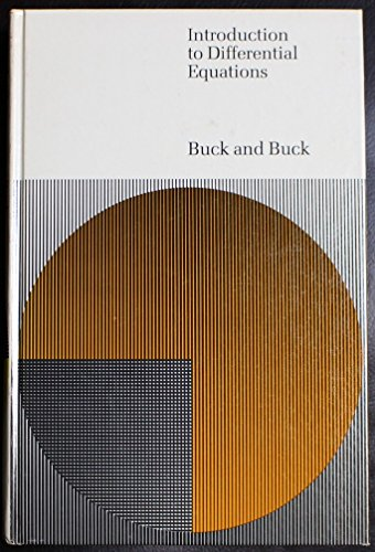 Introduction to Differential Equations: Buck, Robert Creighton