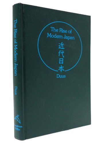 9780395206652: The Rise of Modern Japan