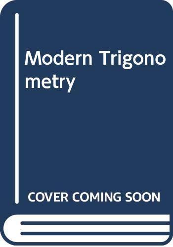 Modern Trigonometry: Wooton, William