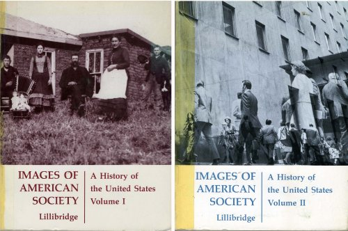 9780395218747: Images of American Society: A History of the United States