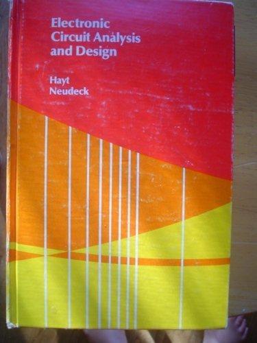 9780395219195: Electronic Circuit Analysis and Design