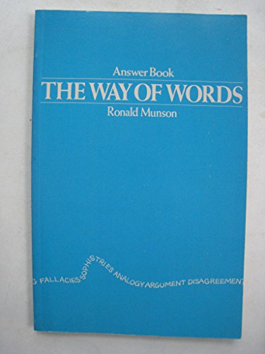 9780395242292: The way of words: Answer book