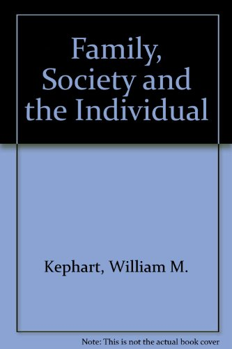 9780395242476: Family, Society and the Individual