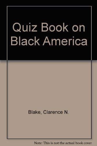 9780395243893: Quiz Book on Black America